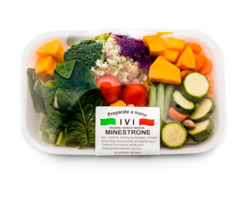 minestrone di verdure in vassoio nuova ivi